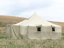 Tenda militare Immagini Stock