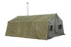 Tenda militare Immagini Stock Libere da Diritti