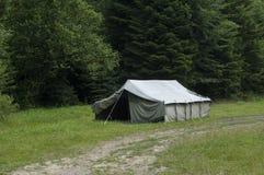 Tenda in montagne Fotografia Stock Libera da Diritti