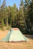 Tenda nella foresta Immagine Stock Libera da Diritti