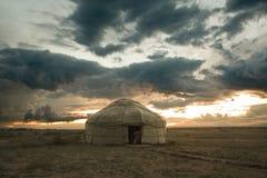 tenda nomade Immagini Stock