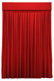 Tenda rossa Fotografie Stock