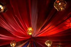 Tenda turca Fotografia Stock