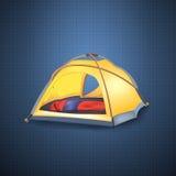 Tenda turistica Immagini Stock Libere da Diritti