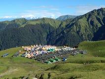 Tenda turistica Fotografia Stock