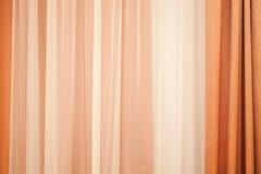 Tenda variopinta moderna con il modello di ondeggiamento Fotografia Stock