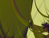 Tenda verde Fotografie Stock Libere da Diritti