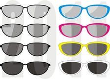 Tendance 2011 de ramassage de lunettes de soleil Photos libres de droits