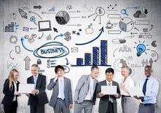 Tendance de sciences économiques Photo stock