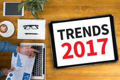 Tendances 2017 Photo stock