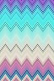 Tendances de fond d'art abstrait de modèle de zigzag de Chevron Aluminium froissé par surface iridescente olographe Couleurs de m illustration libre de droits