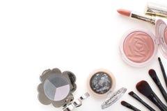 tendances 2016 de maquillage, fumeux et couleur pêche Photo libre de droits