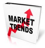 Tendances du marché illustration de vecteur