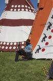 Tendas no debandada de Calgary Imagens de Stock Royalty Free