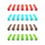Tende colorate. Fotografie Stock