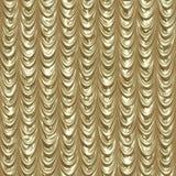 Tende coperte dorate illustrazione di stock