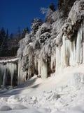Tende del ghiaccio Fotografie Stock