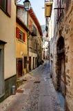 Tende, France. vila nas montanhas. imagens de stock royalty free