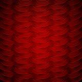 Tende rosse alla fase del teatro ENV 10 Fotografie Stock