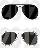 Tendencia 2012 de la colección de las gafas de sol Fotografía de archivo