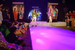 Tendencia de la moda en la India Imagen de archivo libre de regalías