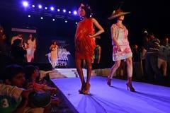 Tendencia de la moda en la India Imagenes de archivo