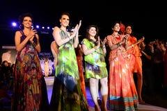 Tendencia de la moda en la India Fotografía de archivo