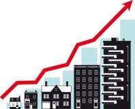 Tendencias del mercado inmobiliario libre illustration