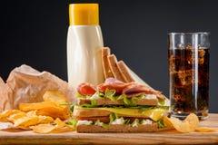 Tendency in fast food Royalty Free Stock Image