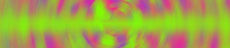 Tendenskleur 2019, UFO Groen Plastic Roze, de Purpere, Panoramische banners van Proton voor het verfraaien van het Web En ga teks royalty-vrije stock fotografie