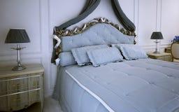 Tendenza della camera da letto di avanguardia Fotografia Stock Libera da Diritti