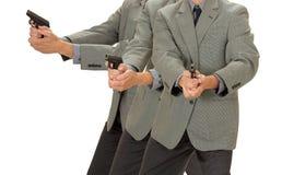 Tendenza della pistola Ditective Fotografie Stock