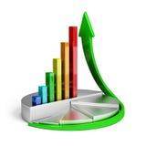 Tendenza di crescita Immagini Stock