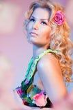 Tender beauty portrait royalty free stock photos
