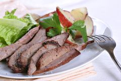 Tender beef sirloin Stock Images