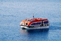 Tender Boat from Cruise Ship Royalty Free Stock Photos