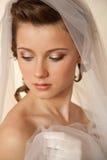 Tender bride Stock Photo