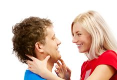 Tender couple Royalty Free Stock Image
