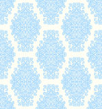 Tender damask vintage floral seamless pattern background Royalty Free Stock Image