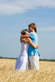 Tender embrace Stock Photo