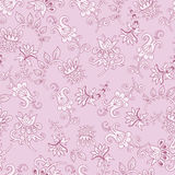 Tender fantasy seamless pattern Stock Photo