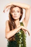 Tender fashion girl Royalty Free Stock Photo