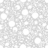 Tender flowers seamless pattern Royalty Free Stock Images