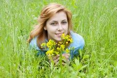 Tender girl Stock Photo