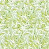Tender grass petal repeatable motif. Royalty Free Stock Photos