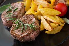 Tender and juicy veal steak Stock Image