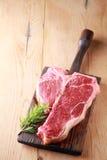 Tender lean porterhouse steak Stock Photo