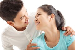 Tender lover Royalty Free Stock Images