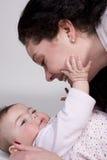Tender Moment Stock Images