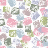 Tender pastel hand painted textured seamless pattern Stock Image